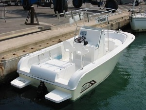 Uniquest 600 Sport Fishing luxe